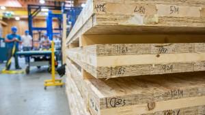 cross-laminated plywood