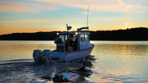 aquaculture report news feather boat ocean sunset