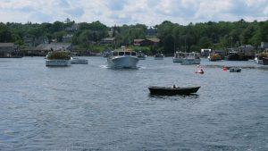 new harbor ocean boat heather leslie