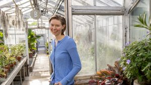 sonja birthesil in the weeds greenhouse