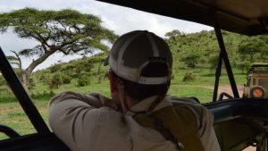 student lion tanzania africa