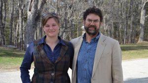 Skylar Bayer PhD and prof Rick Wahle