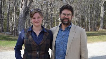 Skylar Bayer PhD and prof Rick Wahle
