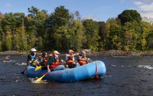 ERS rafting river