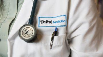 tufts premed health lab coat medical