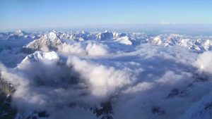 ice mountains climate