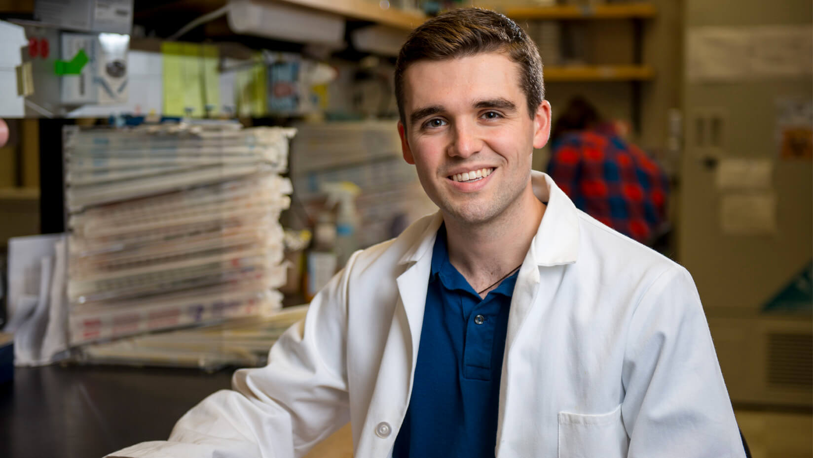 featured image for Drew Brooks: Microbiology, music double major on track for medical school