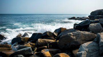 ocean coast wave