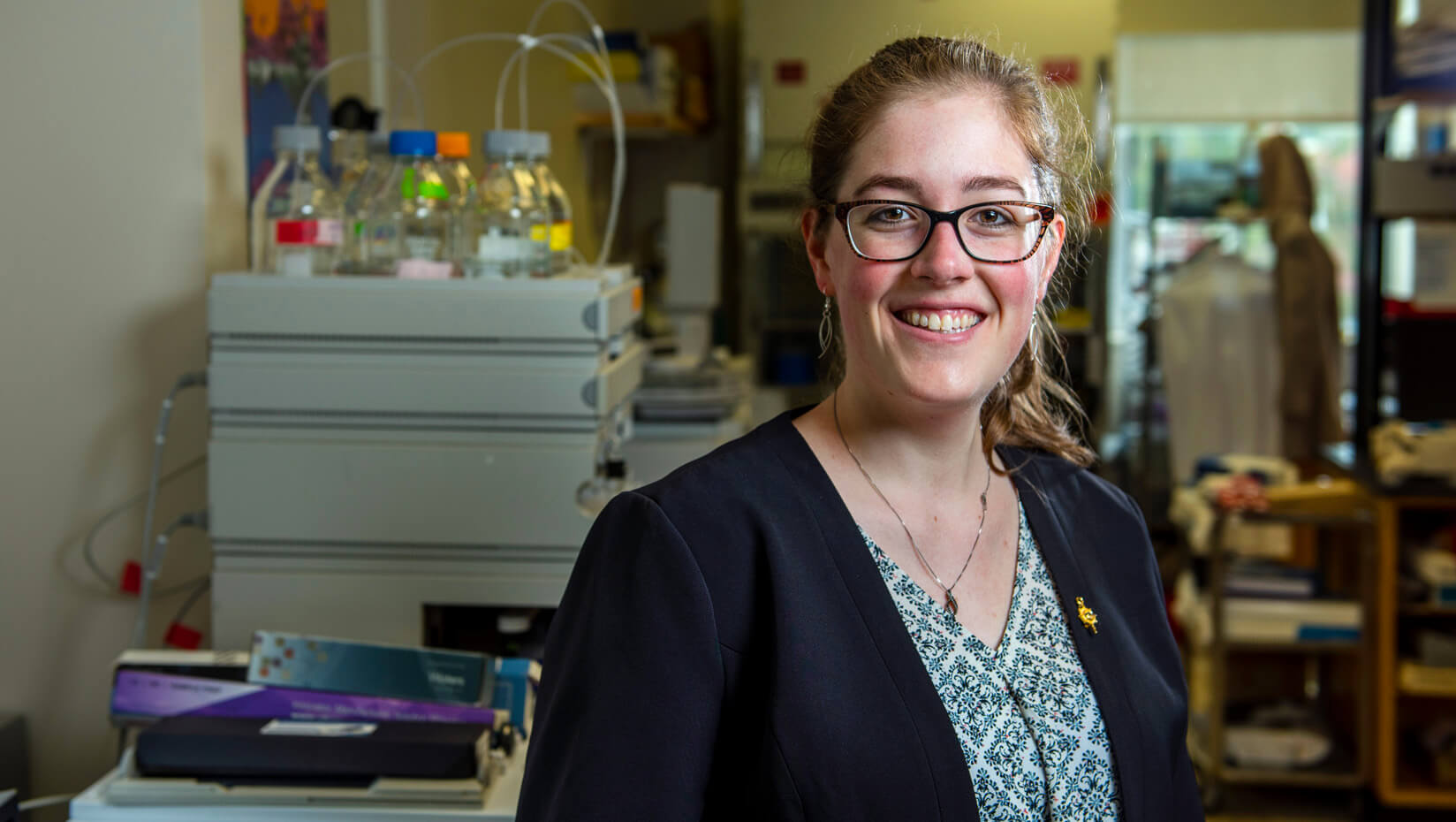 umaine food science student lab Danielle St-Pierre